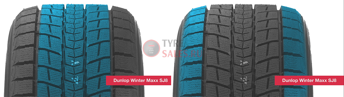 обзор протектора dunlop winter maxx sj8